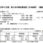 2017/01/18 決算の感想 三機サービス(6044) 2Q