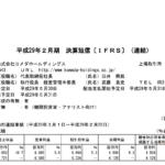 2017/04/25 決算の感想 コメダホールディングス(3543)