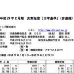 2017/04/12 決算の感想 ディップ(2379) 4Q