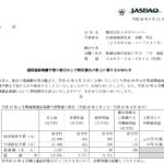 2017/06/12 修正の感想 メガネスーパー(3318)